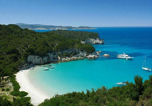 Greek Sailing Cruise private beaches
