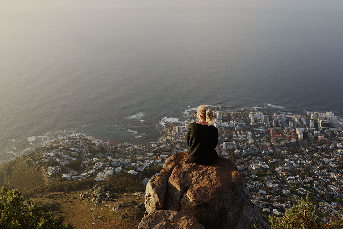 Luxury Safari Cape Town View from Table Mountain