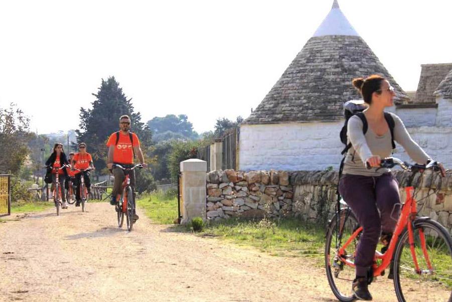 Puglia Bike Tour Scenery
