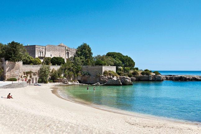 Puglia Luxury Food and Wine Tour Beach